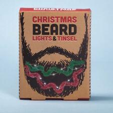 Christmas Beard lights and Tinsel Beard Decorations