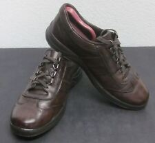 MEPHISTO RUNOFF AIR-JET SYSTEM MEN'S (8) BROWN LEATHER SNEAKERS SHOCK ABSORBERS