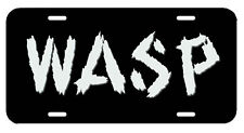 W.A.S.P. ~ License Plate/Tag ~  car/truck/auto/garage Blackie Lawless (Accept)