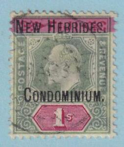 BRITISH NEW HEBRIDES 6 USED - NO FAULTS EXTRA FINE !