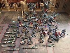 WHMS Eldar Army Painted Commission Warhammer 40k Eldari Dark Battalion Wraith