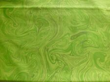 Marbleicious Tonal Blender Quilt Fabric Marble Tone/Tone Cotton Lime Green BTY