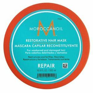 Moroccanoil Restorative Hair Mask 16.9 Oz Pro Size. Brand New Same Day Shipping