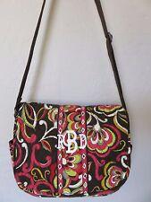 Vera Bradley Puccini Cross Body Laptop Messenger Bag Large Handbag