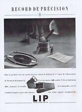 ▬►Publicité French Print advert - Montre Watch - LIP - Pierre INO Bracelet 1946
