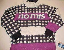 NOMIS Men's Black Buffalo Purple White Insulated Tony Snow Ski Jacket XLT New