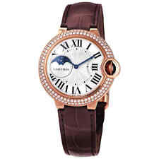 Cartier Ballon Bleu 18kt Rose Gold Moonphase Automatic Ladies Watch WJBB0027