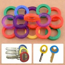Car Motorcycle Bicycle 16pcs Mixed Color Identification Silicone Key Rings Hollo