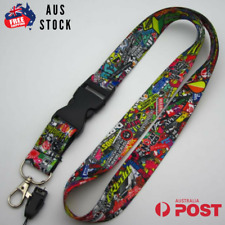 STICKERBOMB V2 LANYARD KEY AND PHONE HOLDER SUBARU HONDA TOYOTA MITSUBISHI