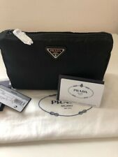 Prada Nylon pouch black with Logo - Brand New with tags
