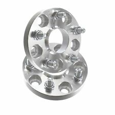 20mm Hubcentric Wheel Spacers | 5x114.3 66.1mm | Fits Nissan & Infinit 12x1.25