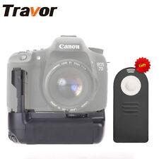 Akkugriffe Batteriegriff Canon EOS 7D DSLR Camera as BG-E7 + Remote control Gift