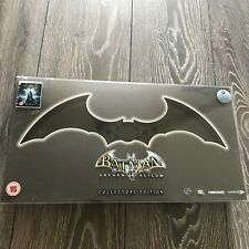 Batman Arkham Asylum Collectors Edition PS3 PlayStation 3 Game Rare w/Batarang