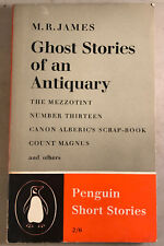 ghost stories of an antiquary penguin 1959 Paperback Book Penguin Short Stories