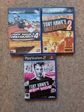 3 x Tony Hawk's Skateboarding PlayStation 2 PS2 Video Games Bundle / Job Lot