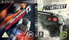 Need For Speed Pro Street & Hot Pursuit PS3 PAL
