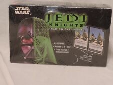 Star Wars Jedi Knights Trading Card Game 36 Count Booster Box- sealed -Decipher