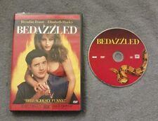 Bedazzled (DVD, 2001, Special Edition) Elizabeth Hurley Brendan Fraser LIKE NEW