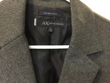 Anne Klein Black White Stretch Blazer Suit Jacket 12