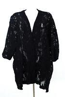 ZARA Guipure Strickjacke Gr. M Oversize Lace Cardigan Strick Knit