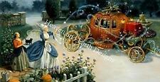 Cinderella's Coach  - HAED Michele Sayetta/Ruth Sanderson Cross Stitch Chart New