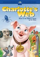 Charlotte's Web DVD - Old Animated Version - New - Gift Quality - Free Shipping