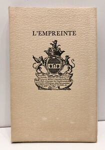 EDITION ORIGINALE L'empreinte J. DE LA VARENDE 3 nouvelles 1/EX N° Herbert & Rey