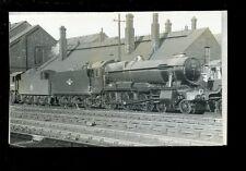 Railway British Rail loco 1021County of  Montgomry at Swindon 1959 photograph