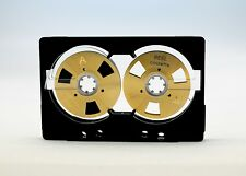 Reel to Reel cassette tape Chrome position Open Type self-made design Gold