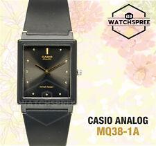 Casio Para Mujer clásico analógico reloj mq38-1a