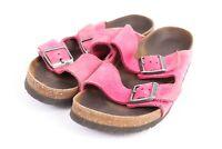 BIRKENSTOCK ARIZONA Leather Sandals Shoes Germany Women's Euro 38 US 7 Narrow