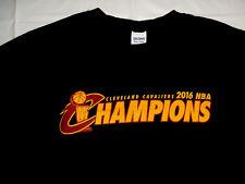 24c849e05 Cleveland Cavaliers 2016 NBA Champions Black Gildan Heavy Cotton XL T-Shirt  Cavs