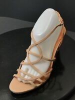 NEW VIA SPIGA STRAPPY LEATHER WOMEN'S SANDALS SHOES SIZE US 9 M