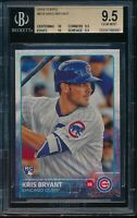 2015 Topps Series 2 Kris Bryant #616 RC BGS 9.5 Gem Mint Card Rookie Cubs