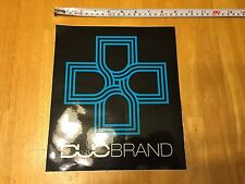 """Duo Brand BMX Bike Components Large Decal / Sticker  8"""" X 10"""""""