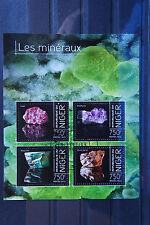 Mineralien 06 minerals Minéraux Niger 2013 Natur gestempelt