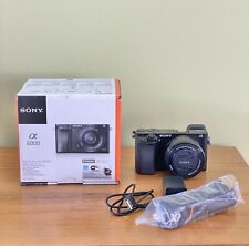 sony a6000 with 16-50mm Kit Lens, Box And New Camera Bag