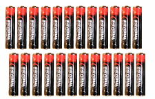 New Universal Electronics AAA Batteries, 1.5V Pack of 24 Batteries