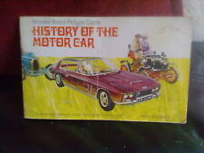 Brooke Bond History of the Motor Car Incomplete -2 Official Album Tea Cards