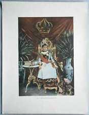 ca.1895 French photochrom QUEEN RANAVALONA III, MADAGASCAR (#409)