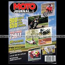 MOTO JOURNAL N°798 KAWASAKI KLR 650 DINATEL, JOHN SAVITSKI, MUR DE LA MORT 1987