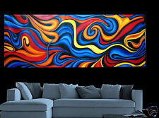 LARGE  landscape original Modern Art Painting 240cm BY 80cm commission