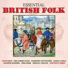 Essential British Folk (Best Of/Greatest Hits) (2CD 2014) NEW/SEALED