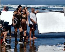 Behind the Scenes Xena & Gabrielle - Photo Club February 2004 8x10 photograph