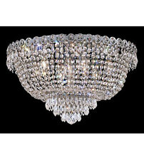 Palace Empire 9 Light Flush Mount Crystal Chandelier Light C Precio Mayorista
