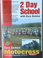 Motocross Skills MX 2 Day School DVD by Gary Semics