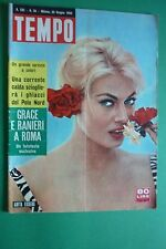 TEMPO 1959 ANITA EKBERG GRACE KELLY NOZZE BRIBITTE BARDOT CASINO' DI TAORMINA
