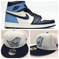 Perfect Matching Angels Snapback For Air Jordan Retro 1 University Blue