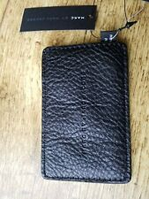 BNWT MARC by MARC JACOBS BLACK LEATHER CREDIT CARD WALLET FREE P&P RRP £70