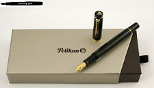 Pelikan Piston Fountain Pen M200 / M 200 in Black - nib sizes: F, M or B